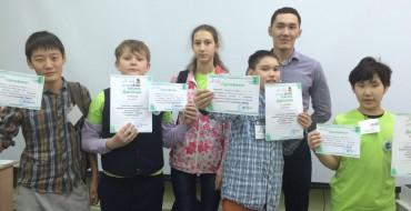 Команда 6б класса МОБУ СОШ №33 заняла I место в I городском чемпионате «JuniorSkills — Yakutsk».
