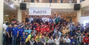 Орлов Леонид и Березкина Таня из 6 д заняли 5 место из 58 команд в Республиканском конкурсе Роботс