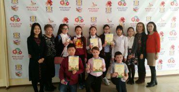 9 апреля прошел конкурс чтецов на английском языке среди учащихся 5х классов