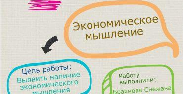 Социальный опрос. Экономическое мышление
