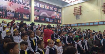 """28 октября в нашей школе состоялся  праздник """"Посвящение в первоклассники"""""""
