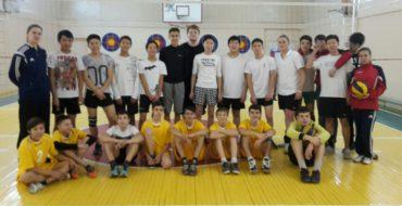 19 ноября состоялась товарищеская встреча по волейболу среди юношей 2000-2002 г.р
