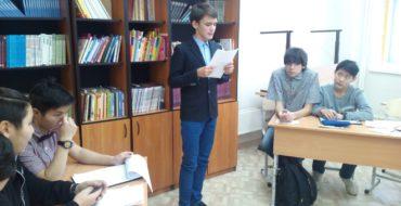 17 декабря 2016 года прошел 2 этап городского турнира по интеллектуальной игре «Дебаты» среди команд школ г. Якутска