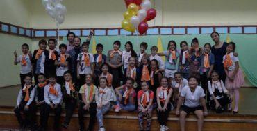 1 ноября состоялось торжественное посвящение в пятиклассники