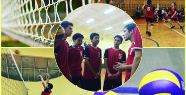 Школьные новости волейбола.