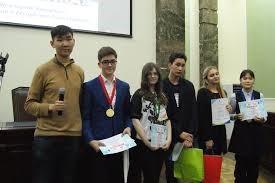 Успешное выступление учеников 8а и 8д на городском конкурсе  «Выбор. ПРОФ. Якутск»