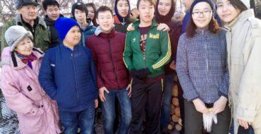 В Год Добра среди детей и молодежи становится популярным тимуровское движение