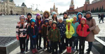 Поездка в Москву-Казань