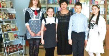 20 апреля в школьной библиотеке царила праздничная, весёлая атмосфера