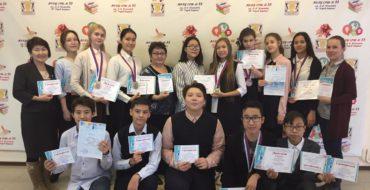 Успешное выступление команды школы  на III городском конкурсе  «Выбор. ПРОФ. Якутск 2017»