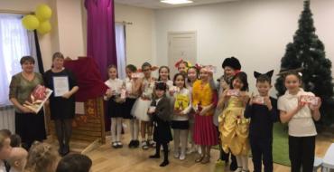 В рамках школьного проекта ученики 3 А класса выступили 19 декабря в детском саду