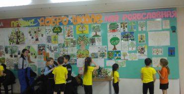 В рамках юбилейных мероприятий «Нам 25!» вторые классы представили проект «Моя родословная»