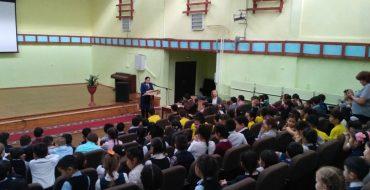 У 2 и 3 классов прошла беседа об ответственности несовершеннолетних за свои поступки