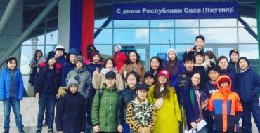 Учащиеся 6а, 7а и 7в классов посетили Мультимедийный исторический парк «Россия — Моя история»