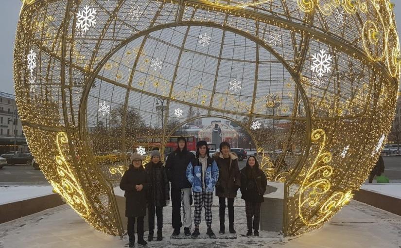 В рамках культурной программы участников XIV Международных научных чтений им. С.П.Королева посетили центр г.Москвы, ММДЦ Москва-Сити.
